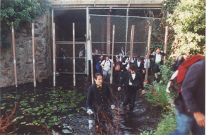 Oakland Formal Dress Sewer Tour late 1990's  Photo by Jillian Northrup