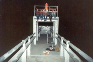 Suicide Club on the Bay Bridge 1980 – picture by Steve White