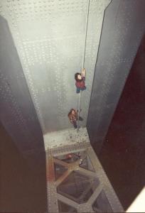 Suicide Club Bay Bridge Climb – photo by Steve White