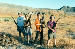 Cacophony on the desert 1997 - by Rusty Blazenhoff Stuart Mangrum, Paul Addis, secret, Scott Beale