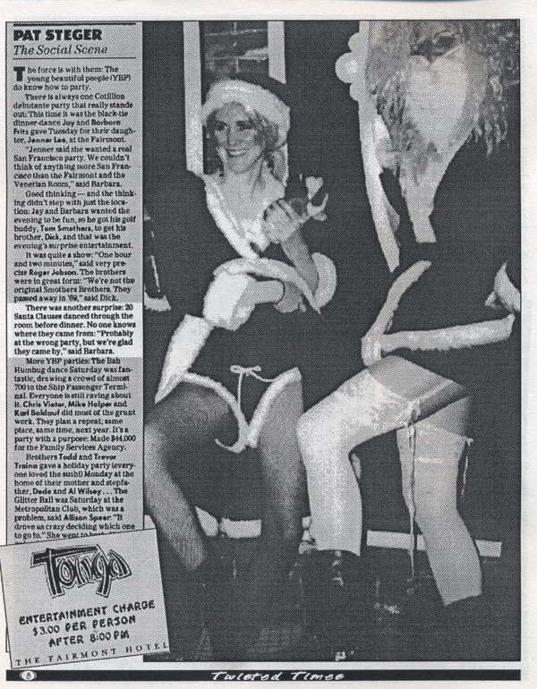 1994 1st SantaCon Twisted Times 3