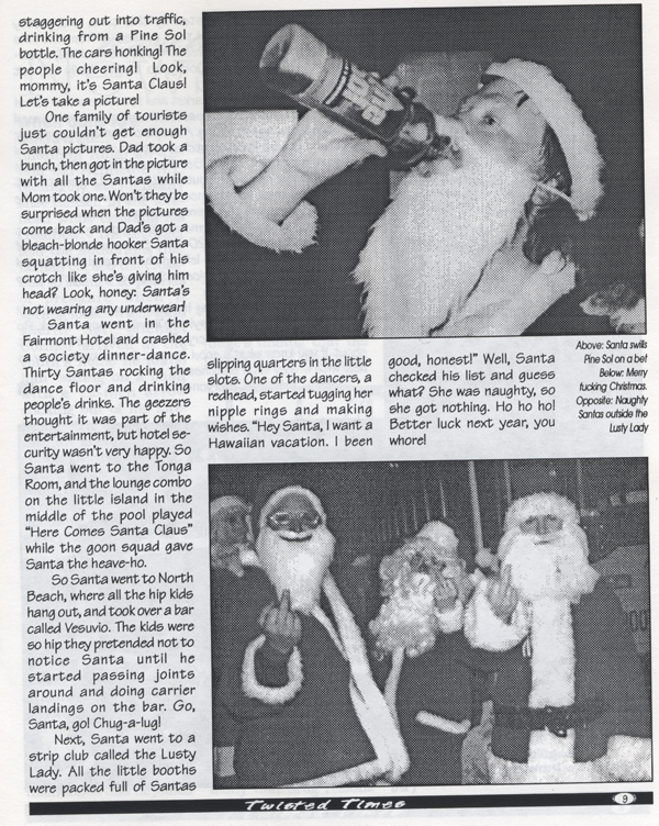 1994 1st SantaCon Twisted Times 4