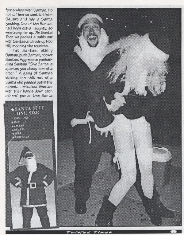 1994 1st SantaCon Twisted Times 2