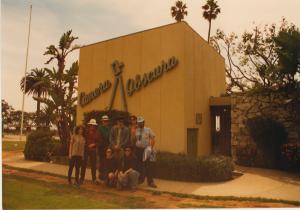 Camera Obscura, 1st LA Zone Trip 1989