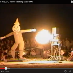The 1996 Seemen show Helco  at Burning Man on Weird TV